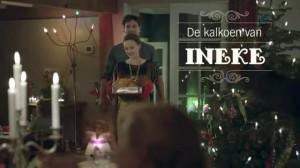 Kerstreclame van Albert Heijn